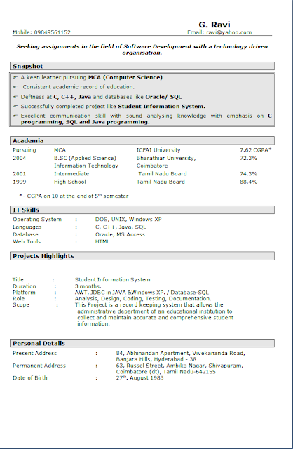 Curriculum Vitae Europeo Free Download Sample Template Excellent
