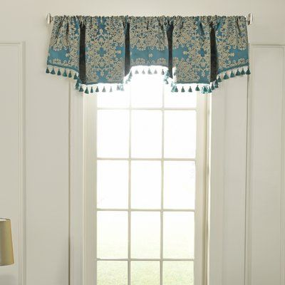 Beautyrest Alexina Ascot Blackout 48 Quot Window Valance
