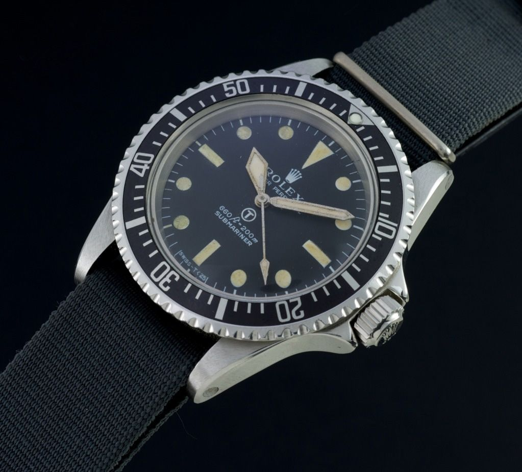 Luxury watches a collectors dream the rolex military submariner 5513