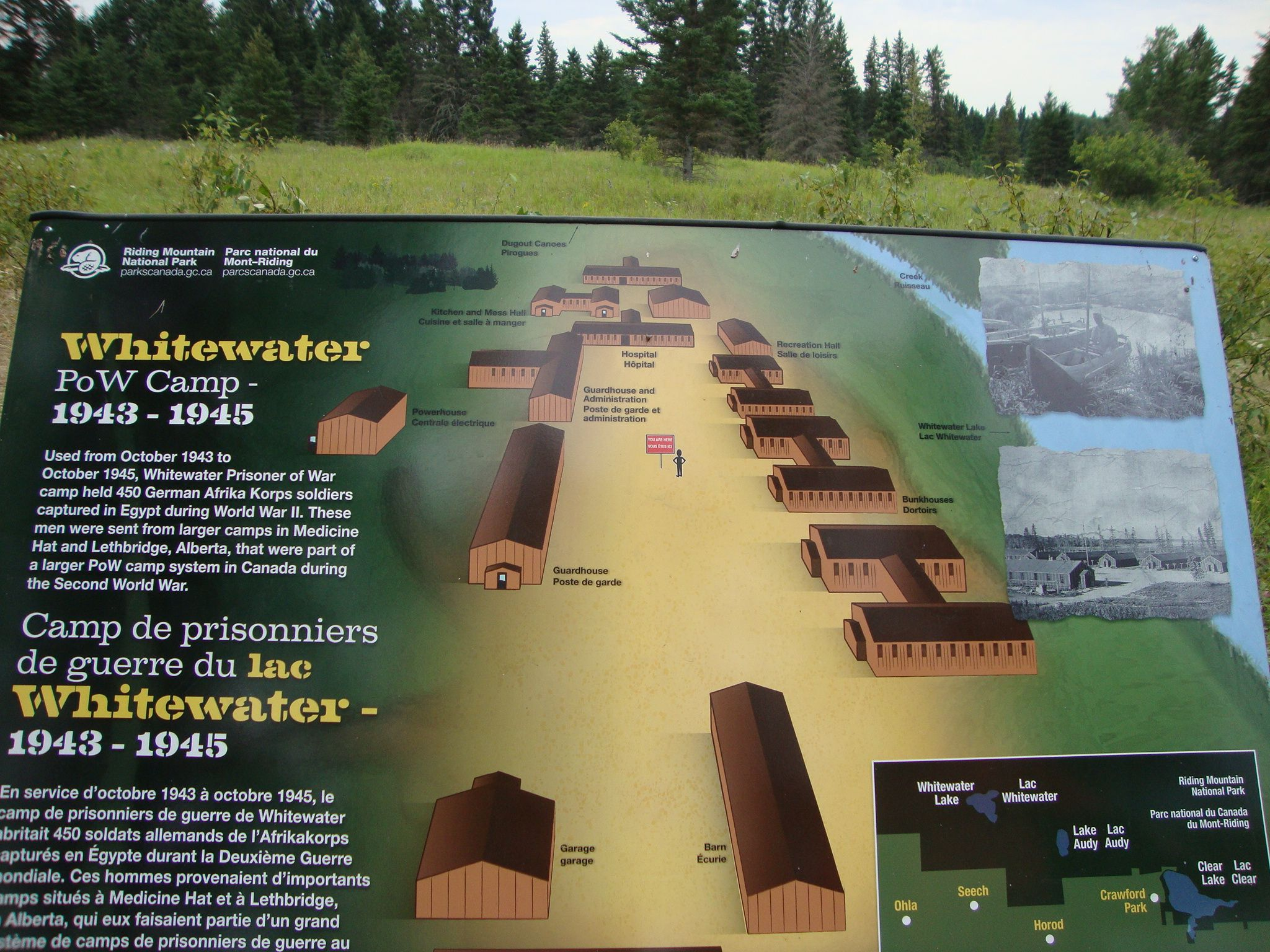 Whitewater Pow Camp Manitoba In Wwii A German Prisoner Of War