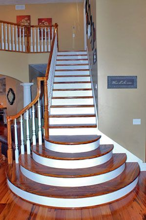 Basement Stair Designs fancy+stairs | how do i build these stairs-basement-stairs