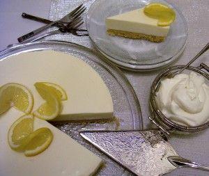 Lemon cheesecake....uuu la laaa