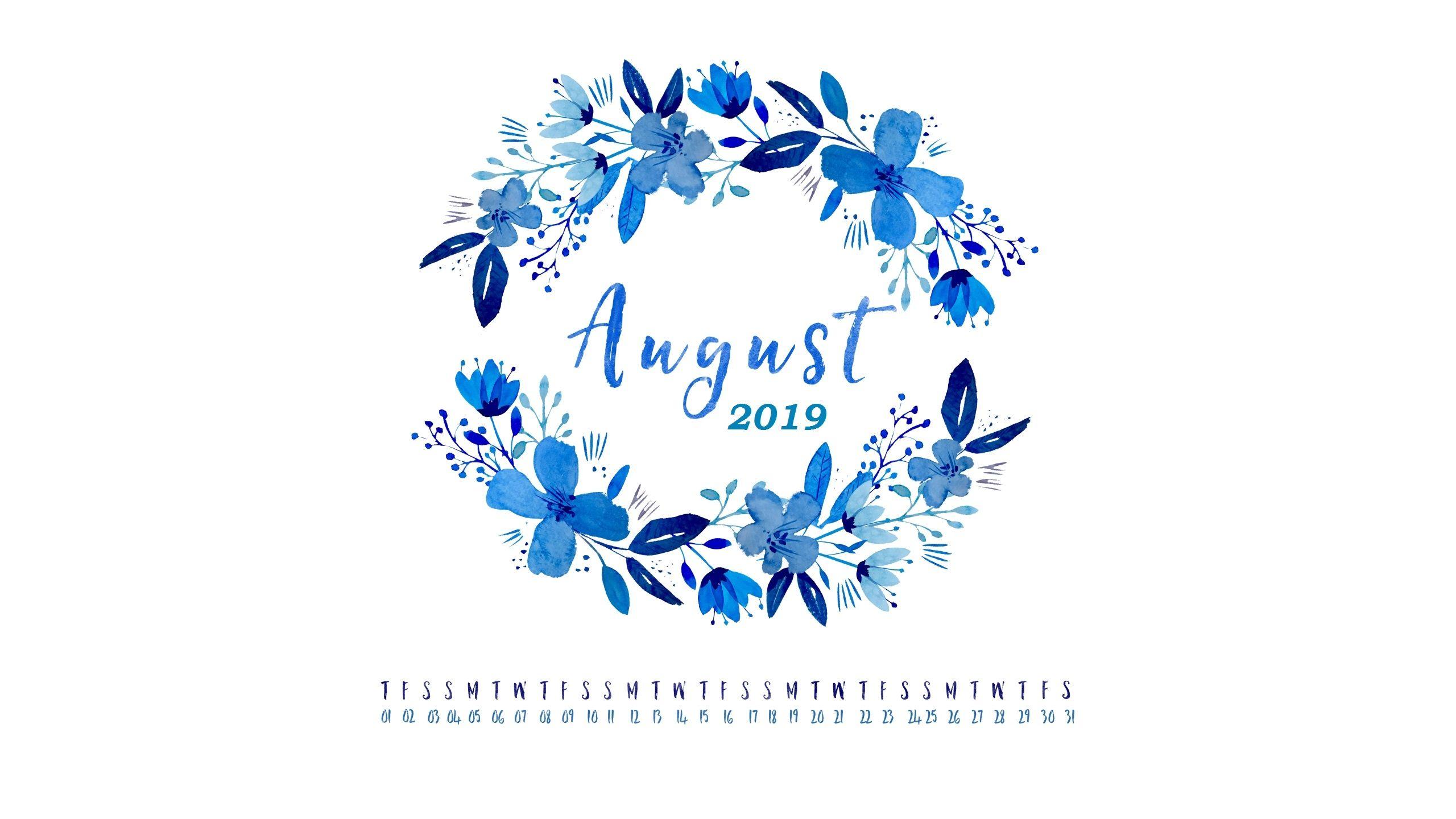 Free 2019 Hd Calendar Wallpapers Calendar 2019august 2019