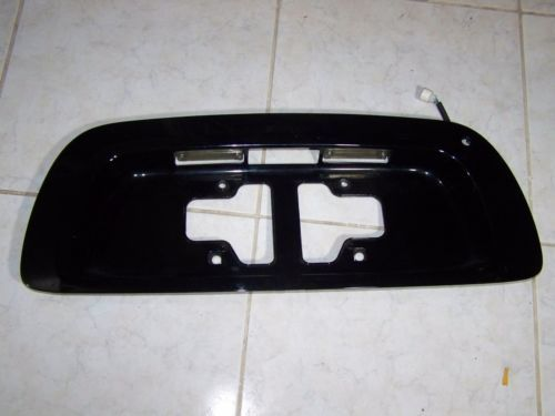 20012004 toyota sequoia rear lid lift gate license plate