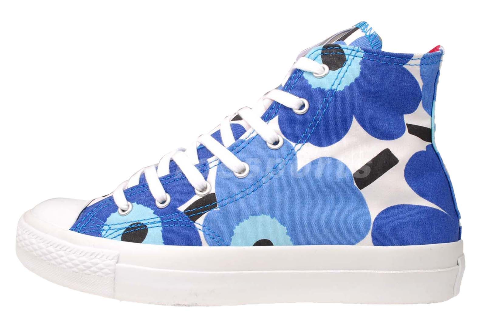 info for 17028 c395f Converse X Marimekko Chuck Taylor All Star Prem HI Blue White Womens Casual  Shoe   eBay  dental  poker