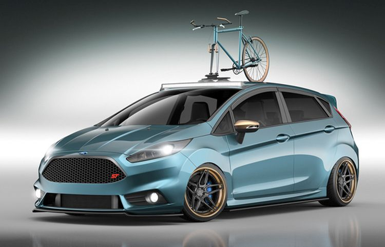 Ford Reveals Custom Ford Fiesta Sts For 2015 Sema Show Ford