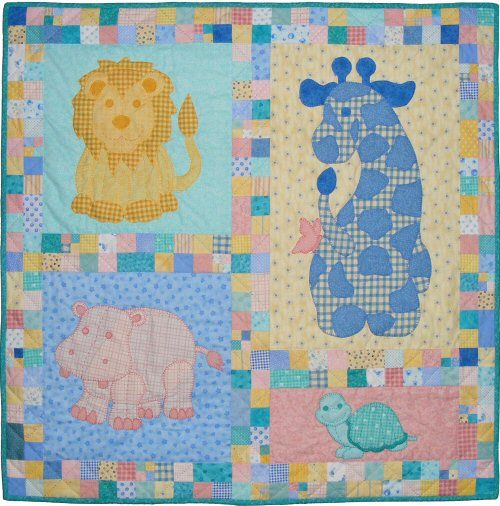 If you want to combine several Stuffies quilt patterns together into one quilt, you can also get the 'Quilt Layout' pattern that explains how, and also includes Stuffies Timmy the Turtle. The quilt pattern is available exclusively through my site here:  http://www.victorianaquiltdesigns.com/VictorianaQuilters/PatternPage/Stuffies/TimmytheTurtle.htm  #quilting #baby #stuffies