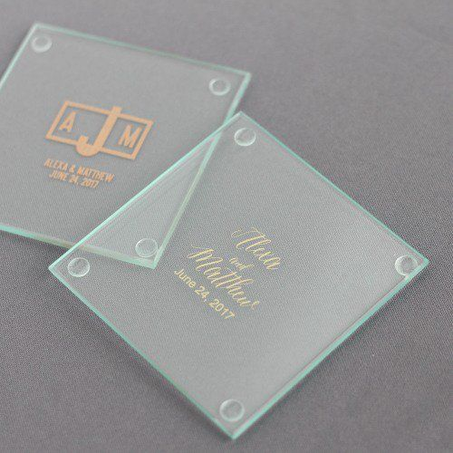 Personalized Glass Coasters Glass Coasters Modern Placemats