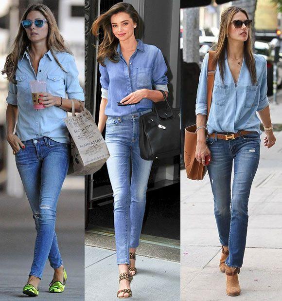 Como combinar camisa social com calça jeans