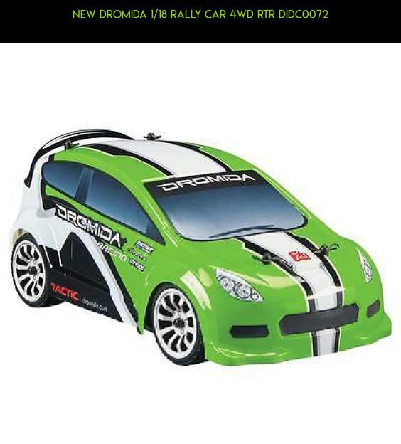 NEW Dromida 1/18 Rally Car 4WD RTR DIDC0072 #dromida #cars