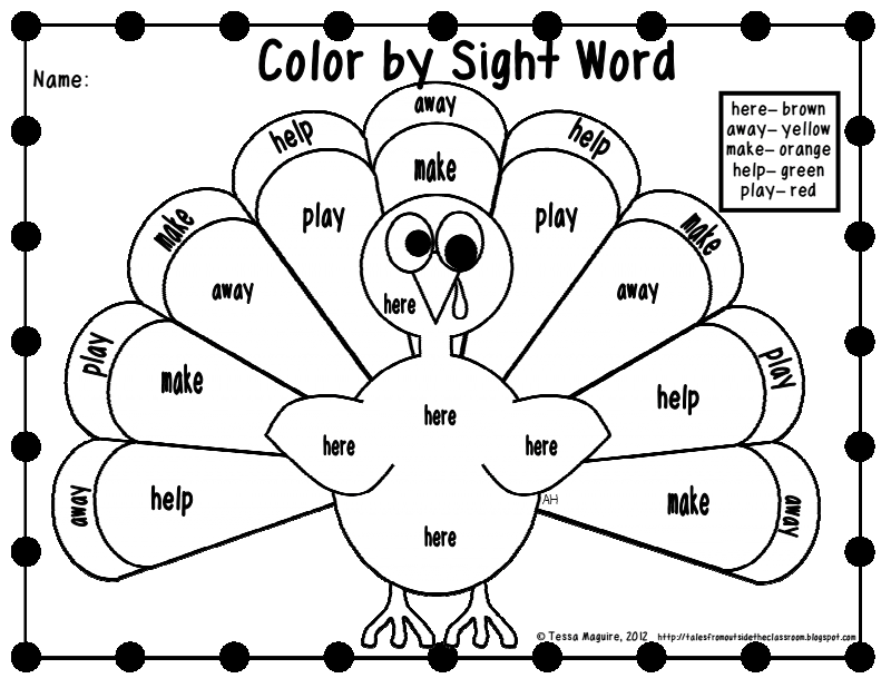Turkey Color By Sight Word Dolch Pre Primer Pdf Google Drive Thanksgiving Worksheets Thanksgiving Classroom Thanksgiving Kindergarten