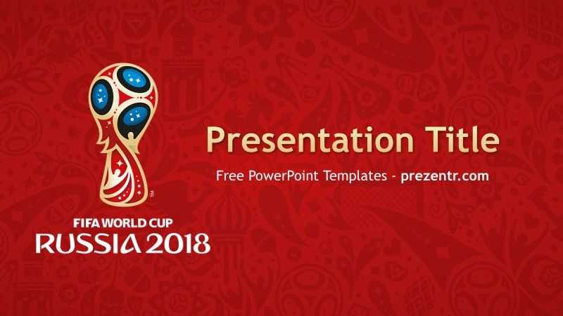 Free 2018 FIFA World Cup PowerPoint Template - Prezentr PowerPoint