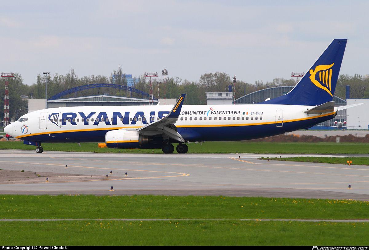 EIDCJ Ryanair Boeing 737800 Boeing, Cargo airlines