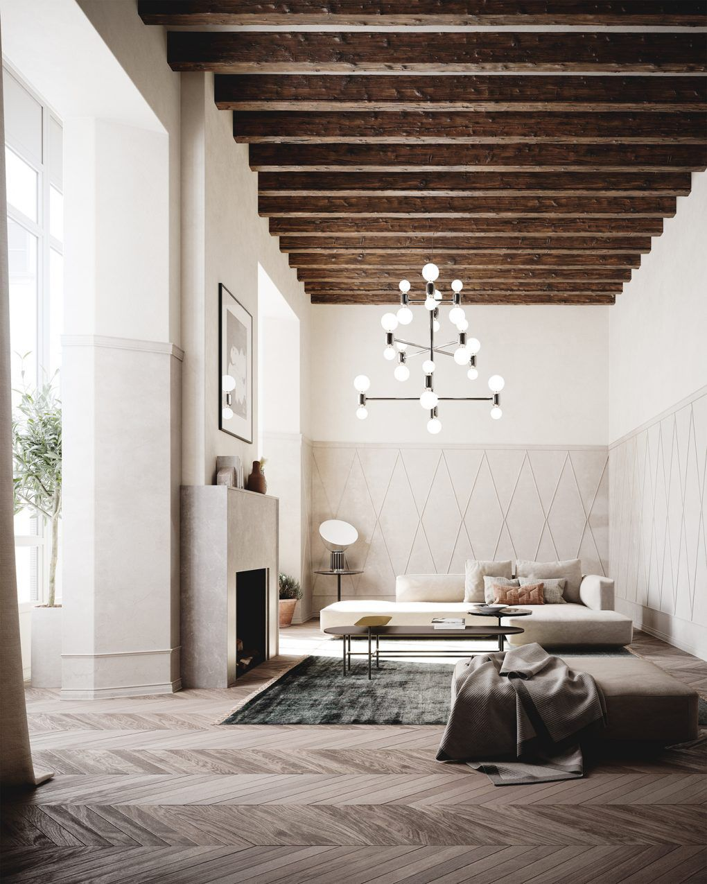 A HighlyCurated Interior Where Scandinavian Functionalism And