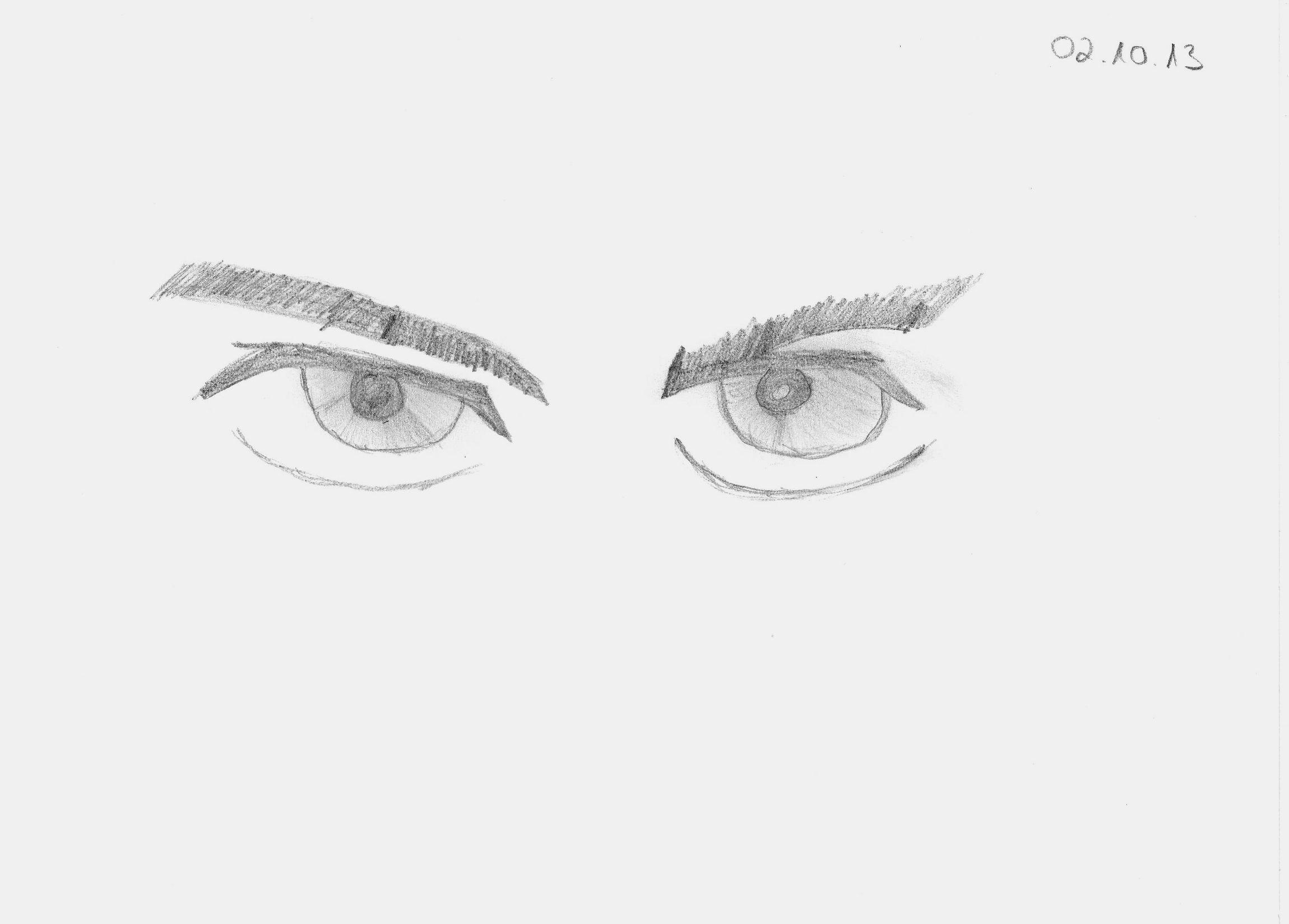 Bleistiftzeichnung #Bleistiftskizze #Anfänger #Manga Augen #Zeichnen ...