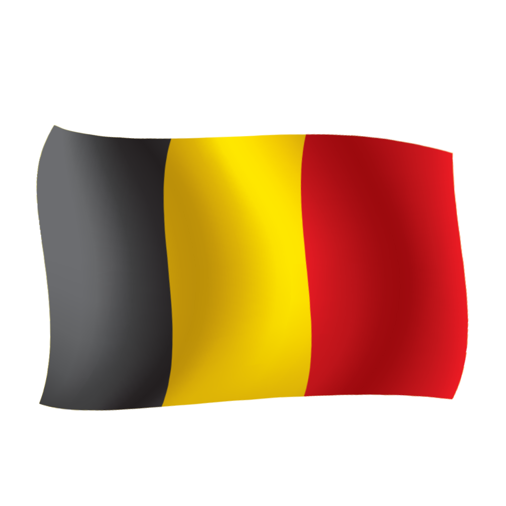 Free download high quality belgium vector flag png image