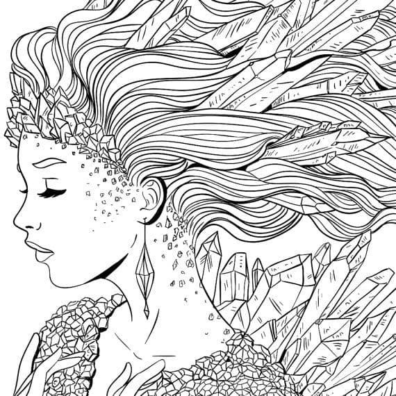 Turn your image or book cover into coloring page | Book covers