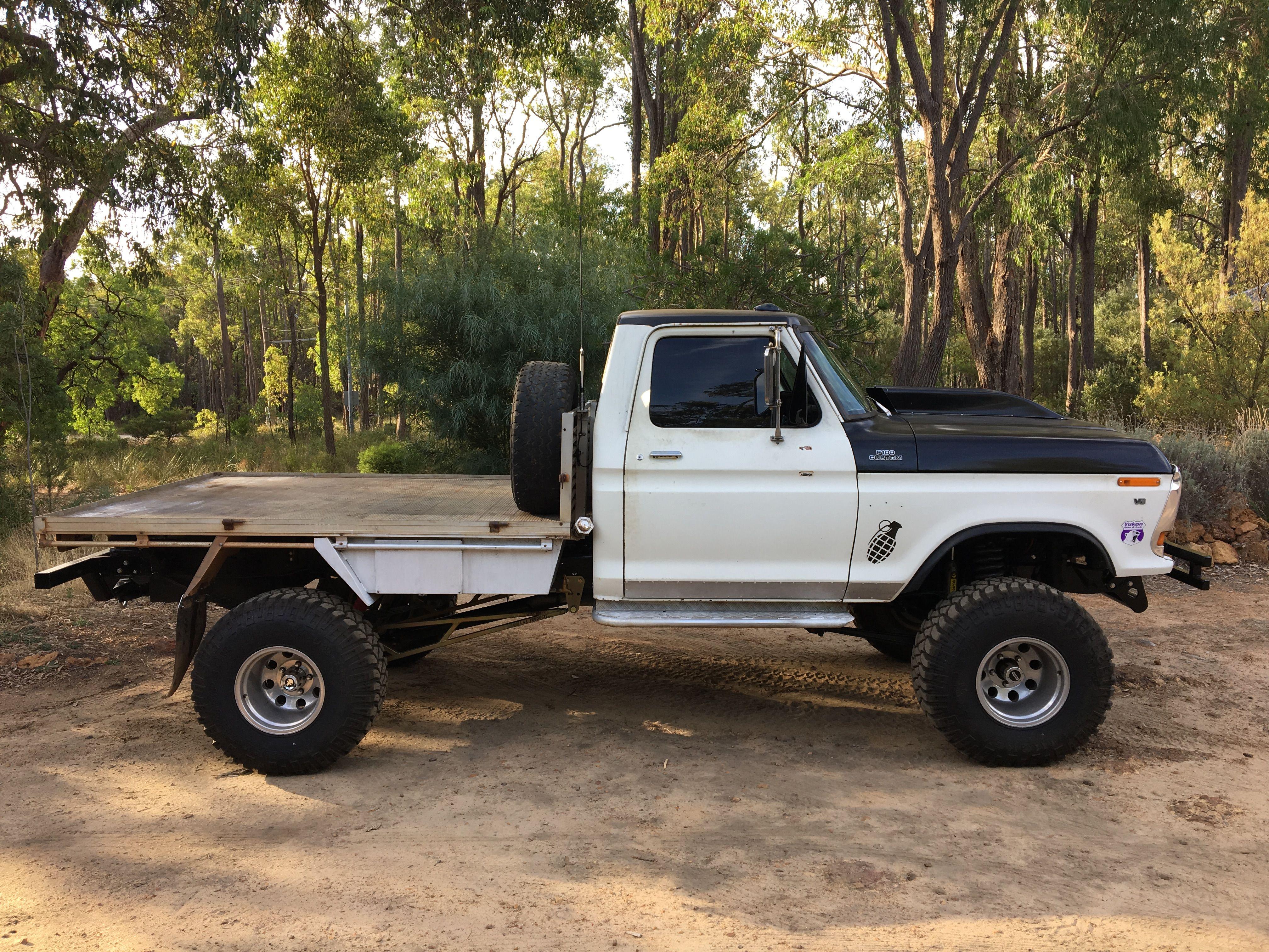 79 F100 4x4 Australia 302 Clevo Classic Ford Trucks Ford Trucks