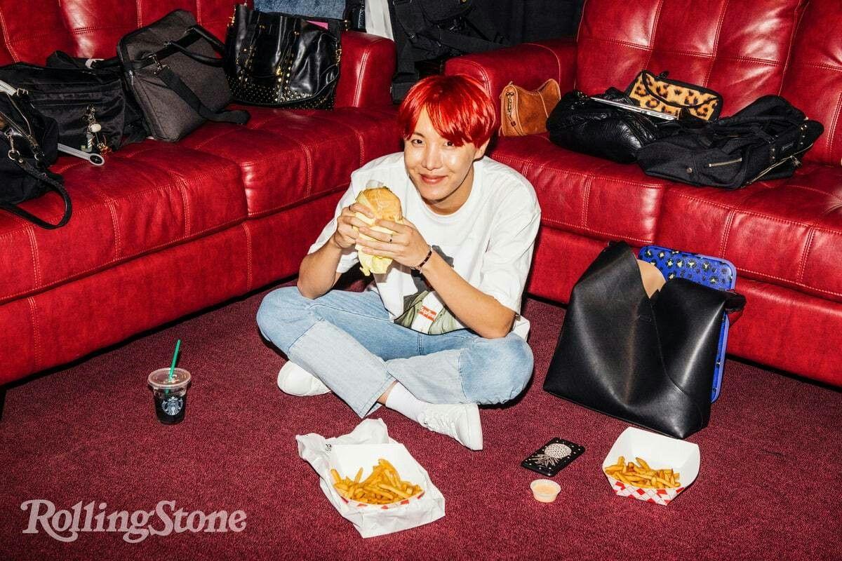 #JHope 17.12.20 BTS // Rolling Stone ♡