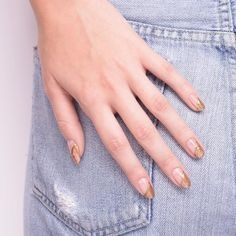 Cult Status: proof that even glitter nails can be hella chill.