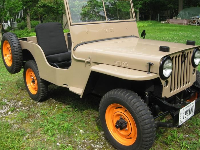 Photo Gallery Classiccars Com In A 1946 Jeep Willys Willys Jeep Willys Jeep