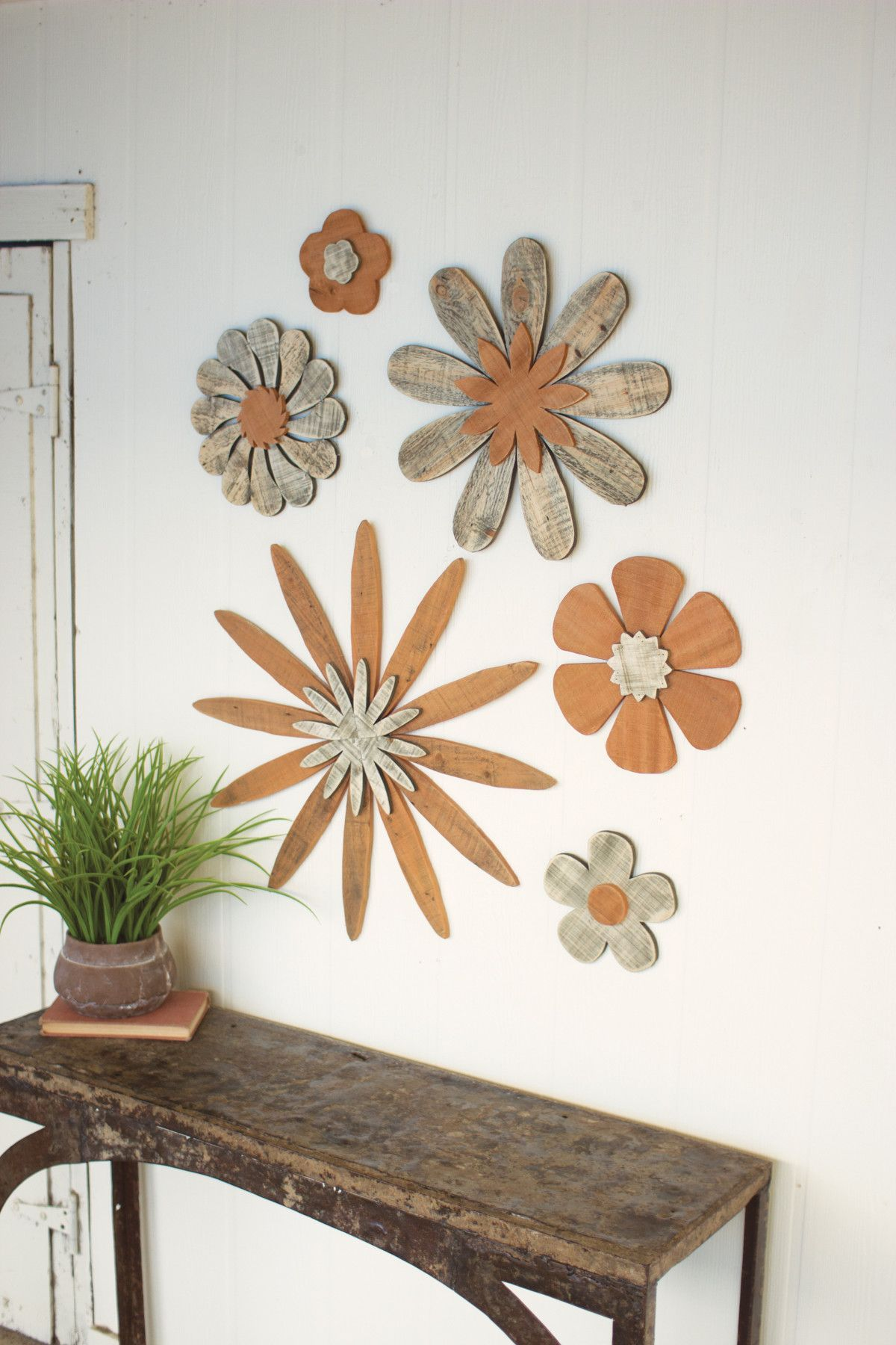 Wall wooden flowers wooden flowers and products