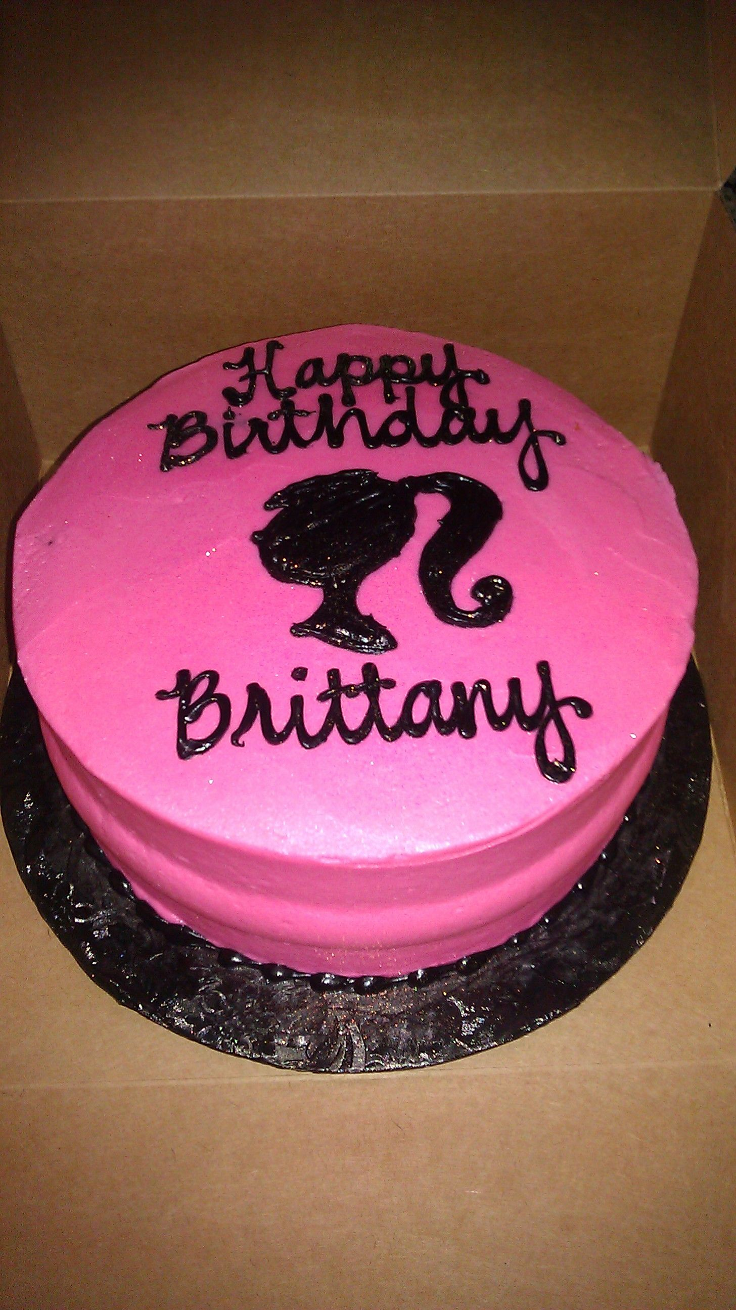 Barbie Birthday Cake Christina Burggraf this might be the easiest