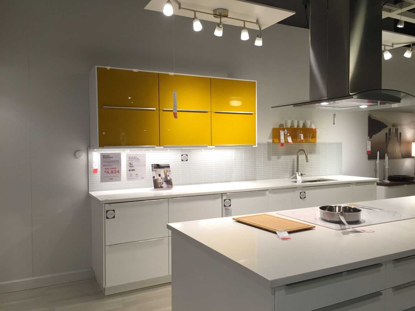 "IKEA has a lot of modern ""around the house"" type of things, appliances, furniture, etc."