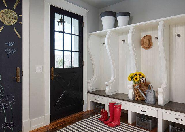 Best Mudroom Cabinet Paint Color Is Benjamin Moore White Dove 640 x 480