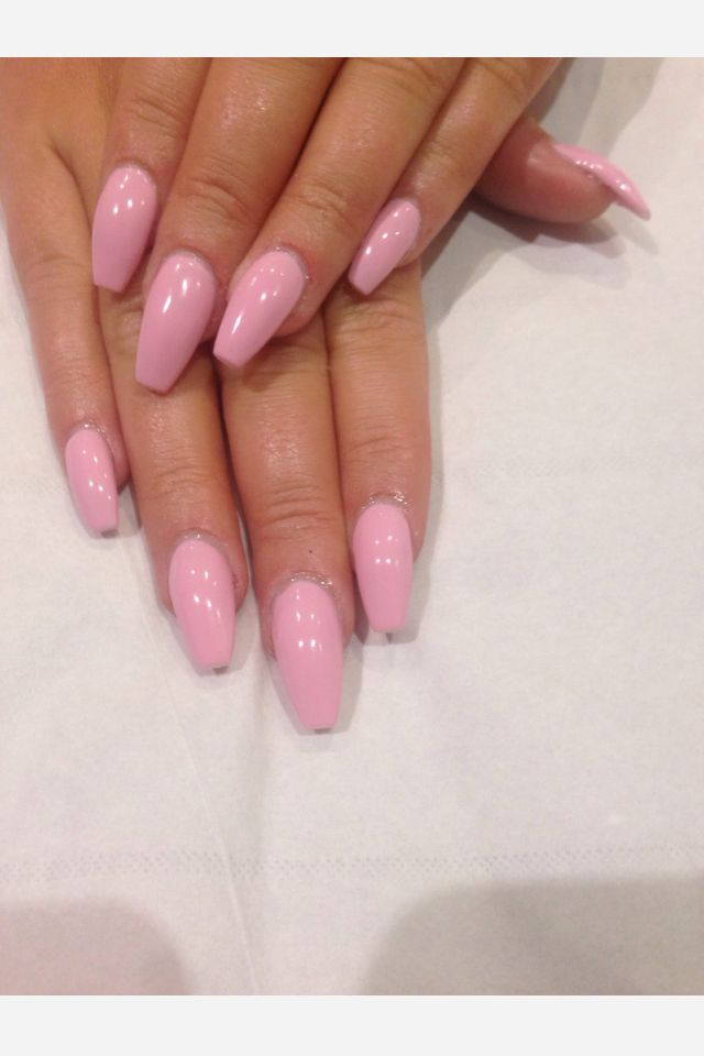 coffin shaped nails - Google Search | Nails | Pinterest | Acrylic ...