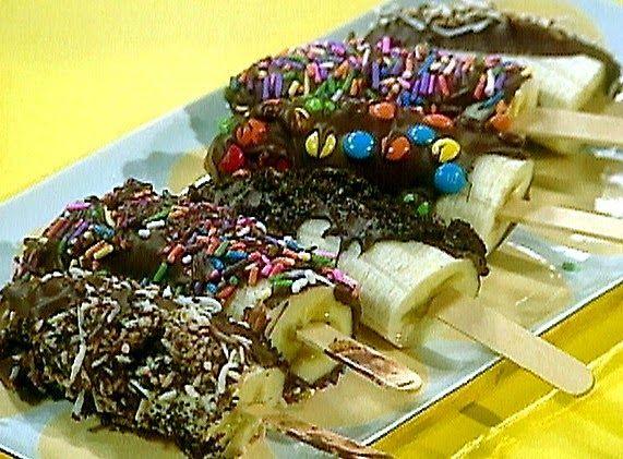 Resep Cara Membuat Es Pisang Coklat Resep Pisang Cokelat