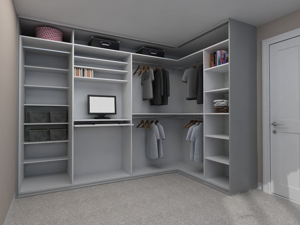 If You Re Looking To Maximise Storage In Your Bedroom Corner Consider Including A Study Area With Images Closet Designs Corner Wardrobe Walk In Closet Design