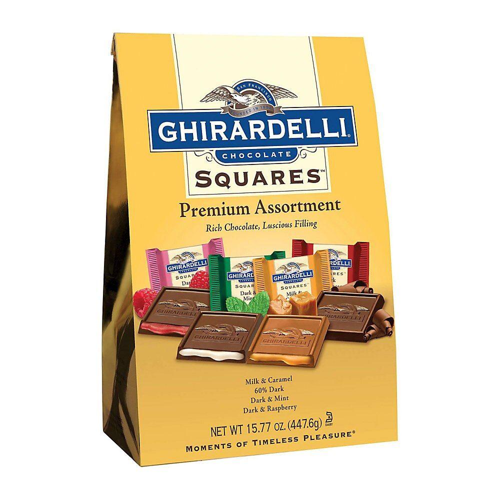 Ghirardelli chocolate squares premium assortment 1577