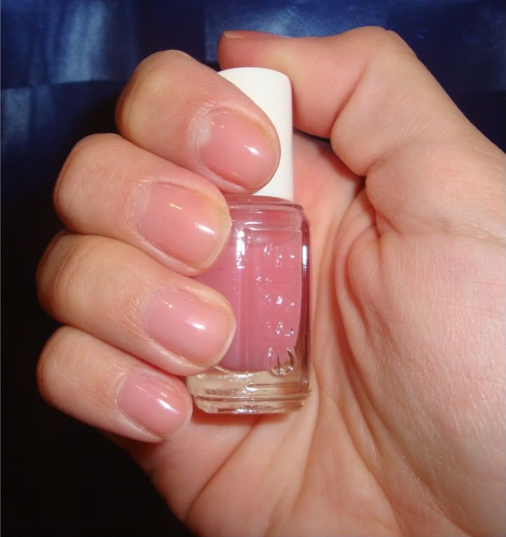 Essie Pink Glove Service Toooooooo Light Even With Two Coats