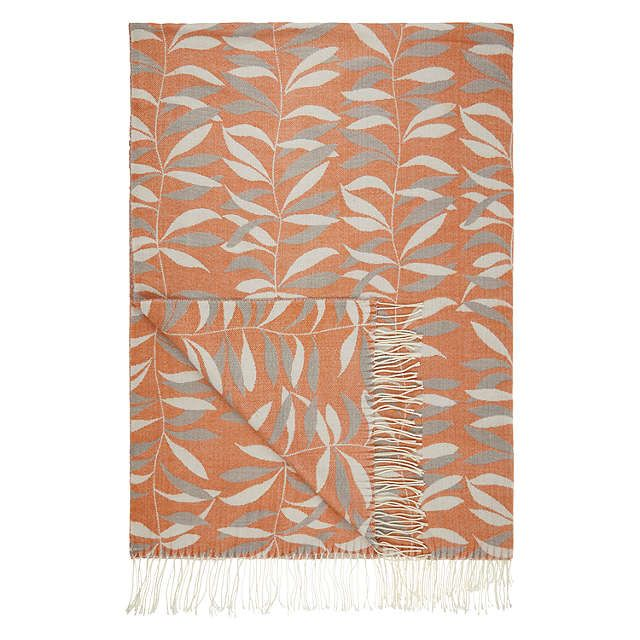 John Lewis Lina Throw, Clementine (With Images)