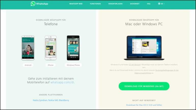 Datenaustausch Von Smartphone Und Computer Via Whatsapp Datenaustausch Smartphone Computer