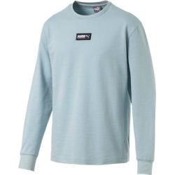 Photo of Puma Herren Sweatshirt Fusion Crew Fl, Größe S in Light Sky, Größe S in Light Sky Puma