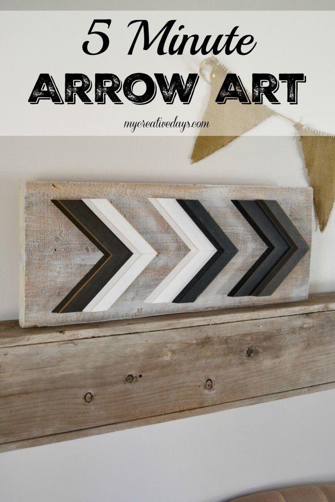 Diy Arrow Wall Decor Arrow Wall Decor Easy Diy Art Arrow Art
