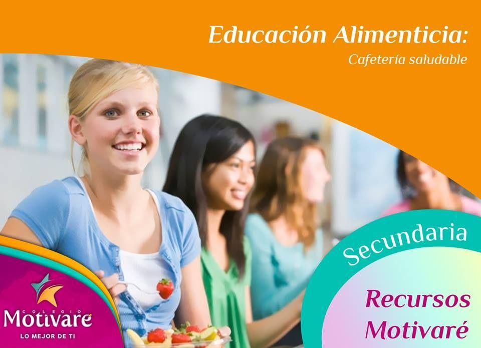 Su alimentación es súper importante para su desarrollo académico por eso en #Motivaré nos alimentamos sanamente.