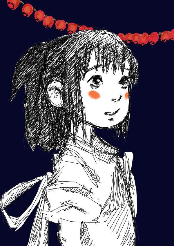 Chihiro Sketch by EriksDesdemona on deviantART Studio