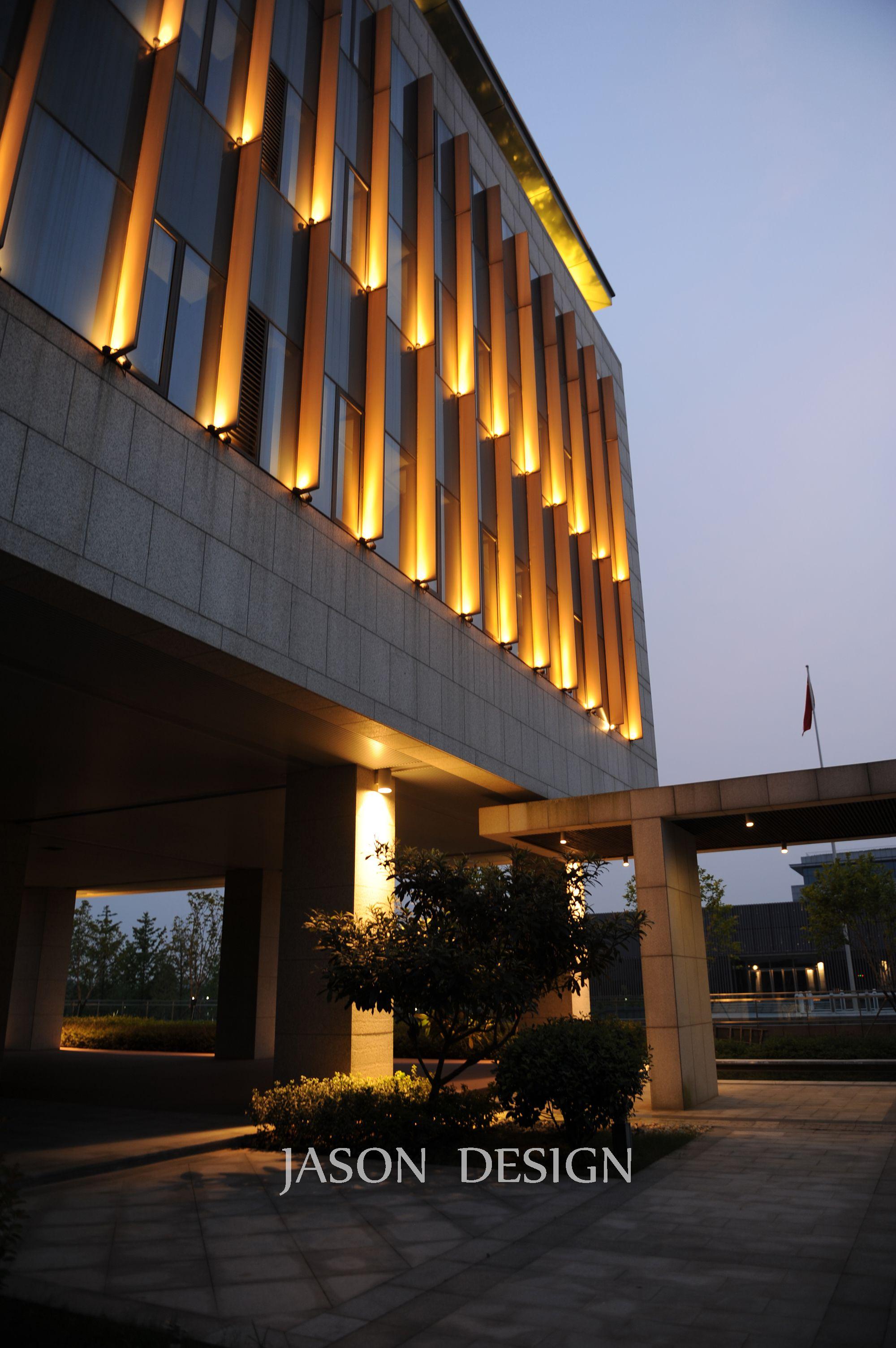 东湖公共服务中心夜景亮化工程设计 Light Up點亮 건축 디자인 건축