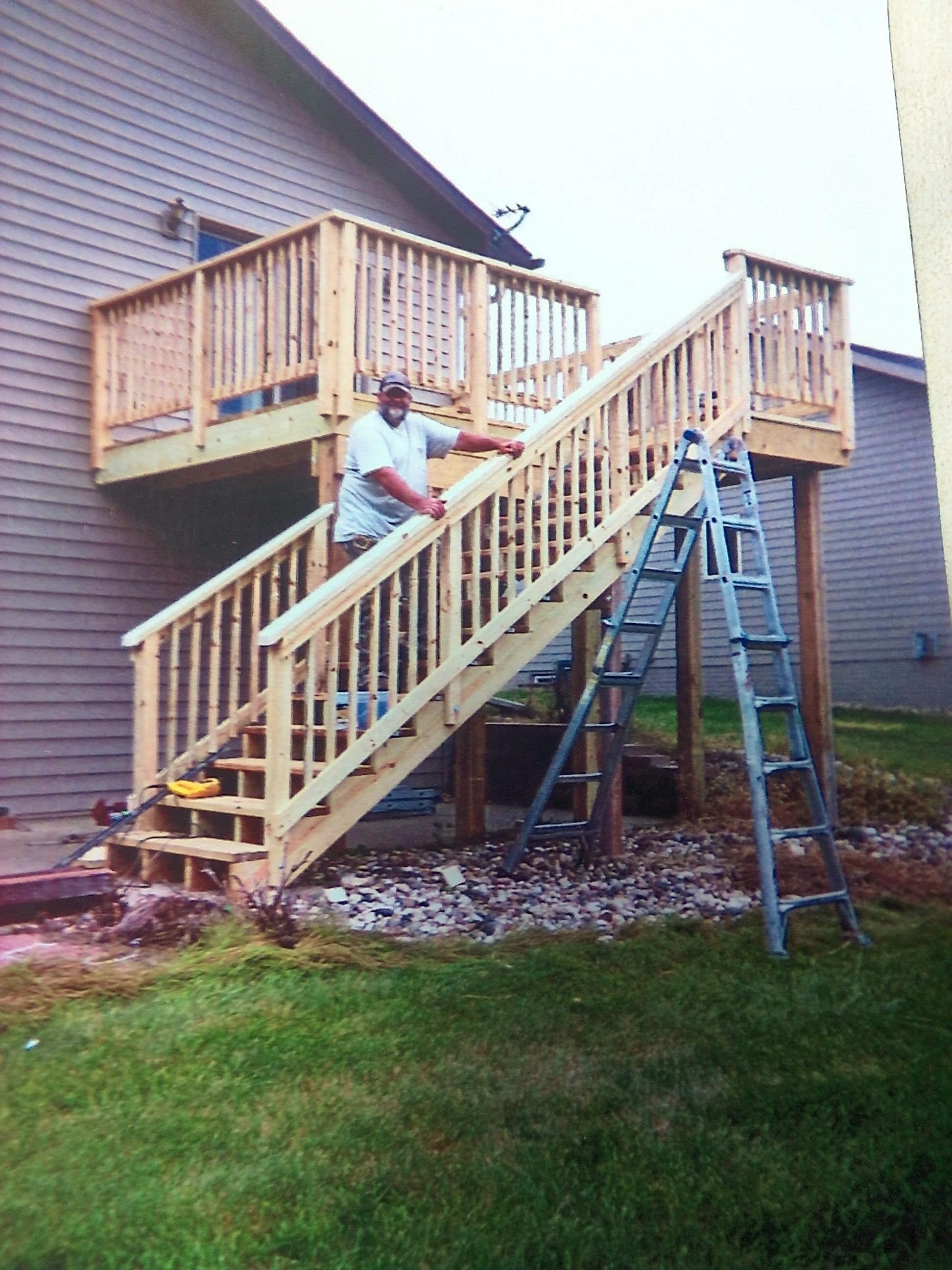 Plan Your Next Deck Project With Our Design It Center Deck Estimator Whether It S Creating A One Of A Kind Dec Deck Projects Outdoor Improvements Deck Design