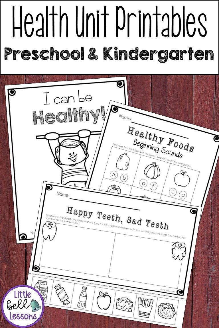 Health Unit Activities For Preschool And Kindergarten Health Lesson Plans Health Unit Dental Health Kindergarten [ 1152 x 768 Pixel ]