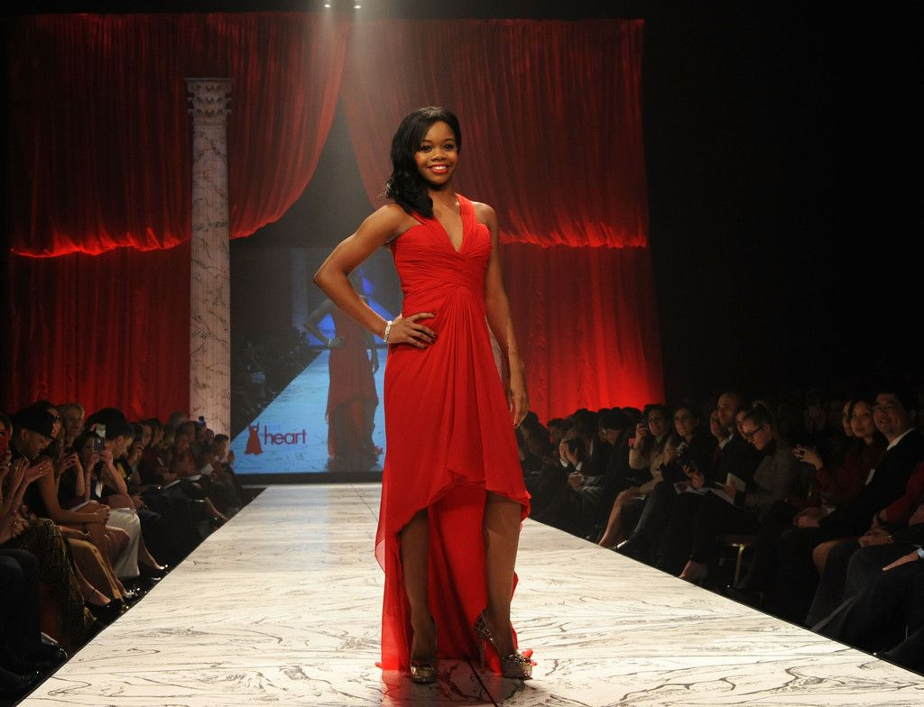 Gabrielle Douglas Photos - The Heart Truth 2013 Fashion Show - Zimbio