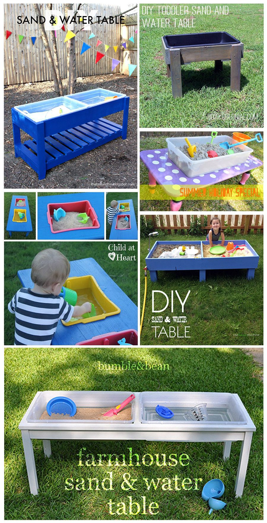 How To Make A Sand And Water Table Sand And Water Table Water Table Diy Sand And Water