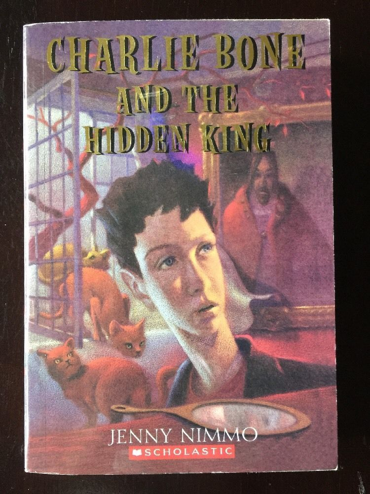 Charlie Bone and the Hidden King Jenny Nimmo Paperback