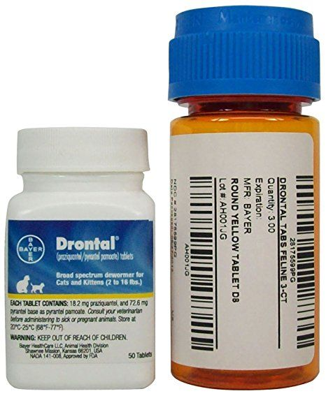 Drontal Tabs For Feline 3 Count With Images Feline Cat Medication