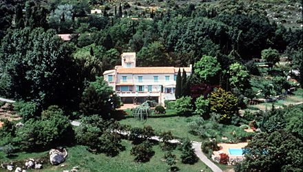 Roc-Agel, is the privately owned official retreat in France, purchased by Prince Ranier in 1957. It was on her drive from here back to Monaco that Princess Grace suffered a stroke which led to her death in 1982