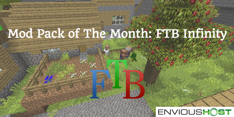 Check out our July #Minecraft Mod Pack of the Month! FtB