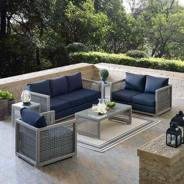 Patio Furniture Layout, Modway Outdoor Furniture